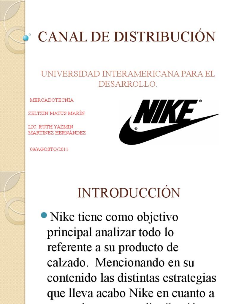 leninismo Parpadeo desbloquear  empresanike-110808085642-phpapp01 | Distribución (comercial) | Nike