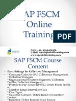 SAP FSCM Online Training UK,London,Edinburgh,Oxford,Cambridge