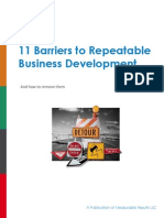 Barriers to Business Development eBook
