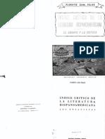 Proceso Intelectual Del Uruguay Indice Critico