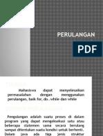 perulangan for.pptx
