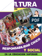 Cultura y Responsabilidad Civica y Social