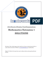 Extension 1 Solutions