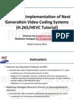 h.265 Hevc Tutorial 2014 Iscas
