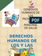 Derechos de Los Pacientes y Del Personal de Salud