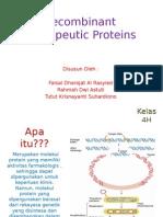 Materi 12_ Recombinant Therapeutic Proteins