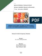 SQHA - Perigos e Riscos relacionados com o sushi/sashimi para a Saúde