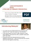 Pediatric Lead Exposure Flint Water Results