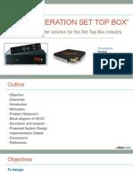 Set Top Box HEVC Presentation