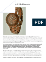 Gli Orologi Di Legno Di Valerii Danevych