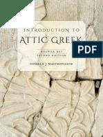 Mastronarde-Attic Greek Answer Key