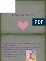 Feliz Día Mamá