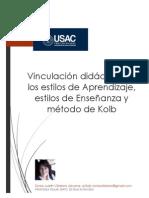 Proyecto Vinculaci%C3%B3n Did%C3%A1ctica de Los EA EE y Kolb