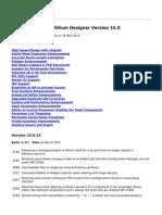 Release Notes for Altium Designer Version 15.0 - 2015-03-16