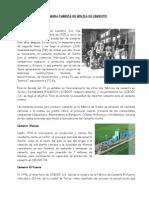 Primera Fabrica de Boliia de Cemento