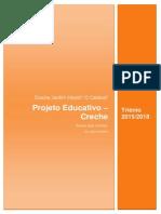 Projeto Educativo Creche 2015-2018