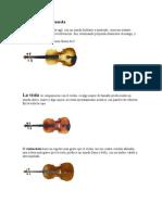 Instrumentos de Cuerda y de Percucion