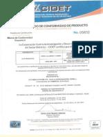 Comercial Alpa Certificado 05832