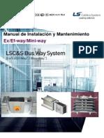 ALPA LSC Busway Manual de Instalacion