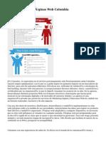 Posicionamiento Páginas Web Colombia