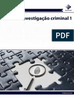 Curso Investigação Criminal 1 e 2_SENASP (Completos)