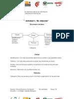 Actividad 5 Diccionario de Datos