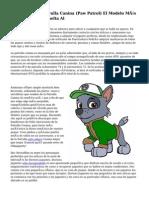 Estuche De La Patrulla Canina (Paw Patrol) El Modelo Más Popular En Esta Vuelta Al