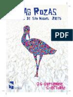 Program a de Fiestas San Miguel 2015