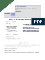 """""""NOT"""" Trademark Registration Filings"""