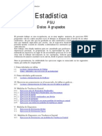 Estadistica PSU Datos Agrupados
