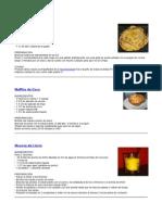 Dieta de Dunkan y Recetas Dulces