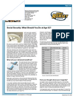 Social Security - What to Do at Age 62