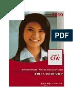 28388365 CFA L2 Level 1 Refresher