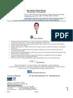CV Aminul H. Bhuiya MBA MCom Manager, Sales & Marketing Updated-08-15