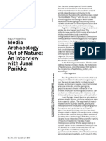 Media Archaeology Out of Nature - An Interview With Jussi Parikka