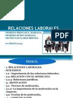relaciones laborales presentación