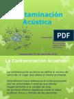 Contamincion acustica