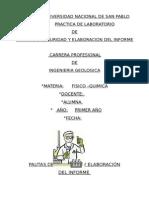 informe  1 ... quimica