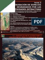 Tema2 Restauracion de Espacios Degradados Por Las Actividades Extractivas