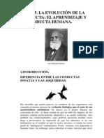 Tema 9. El Aprendizaje y La Evolución de La Conducta