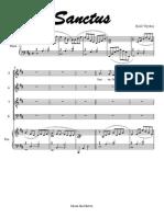 Bald Wyntin Choir&Piano MSMSanctus