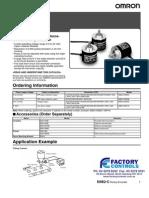 E6B2-C Rotary Encoder Datasheet
