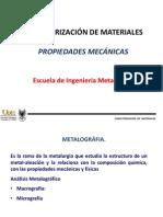 1a Caracterizacion Microestructural y Mecanica
