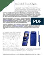 Venta De Móviles Chinos Android Baratos En España