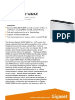 Gigaset SX682 WiMAX