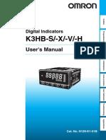 indicador digital omron