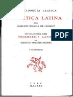 ¡¡¡Im Fonética Latina