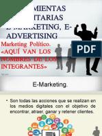 Marketing Político. E-MARKETING