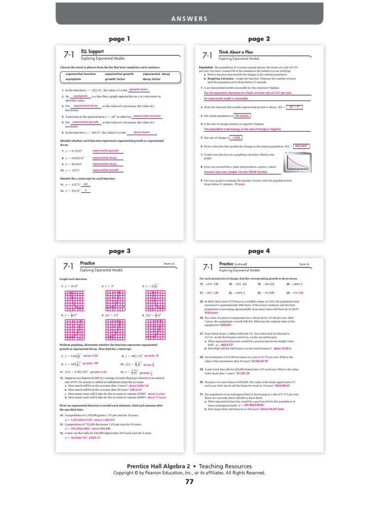 prentice gold algebra 2 workbook answers 28 images prentice – Prentice Hall Algebra 2 Worksheet Answers