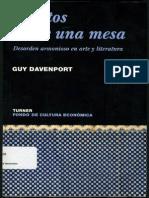 Davenport, Guy Objetos Sobre Una Mesa PDF